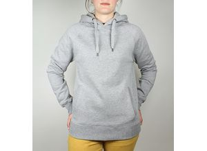 Continental Clothing Unisex Pullover Hoodie mit Seitentaschen - light heather